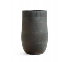 Кашпо TREEZ ERGO-серия Graphics-высокая округлая чаша-окись с медной патиной 54 см