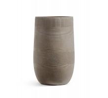 Кашпо TREEZ ERGO-серия Graphics-высокая округлая чаша-капучино 54 см