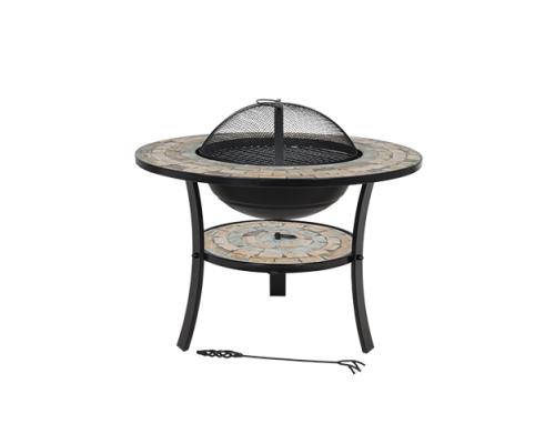купить Кострище со столом, крышкой и гриль-решеткой Mykonos в магазине Formula-Dachi.ru