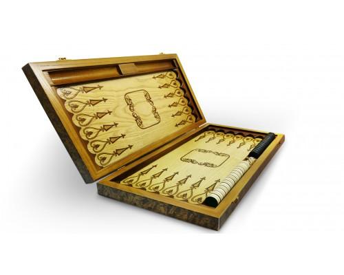 купить Нарды-шашки «Старт» «Эдем» (510 х 250 х 80 мм), фишки 25 мм в гипермаркете Формула Дачи