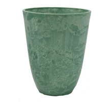 Высокий горшок для цветов 29x36 зеленый GreenShip