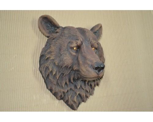 купить Декоративная голова на стену Медведь добрый (ИН-7) 26х30х36см в интернет магазине Formula-Dachi.ru