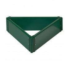 Клумба 3х0,6 м зеленая, коричневая